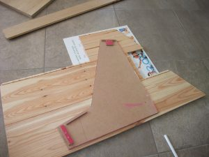 Contre-collage MDF sur parquet