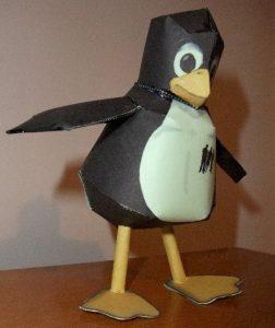 Tux est le manchot symbole de Linux