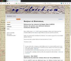 Capture d'écran du site https://rg-ulrich.com